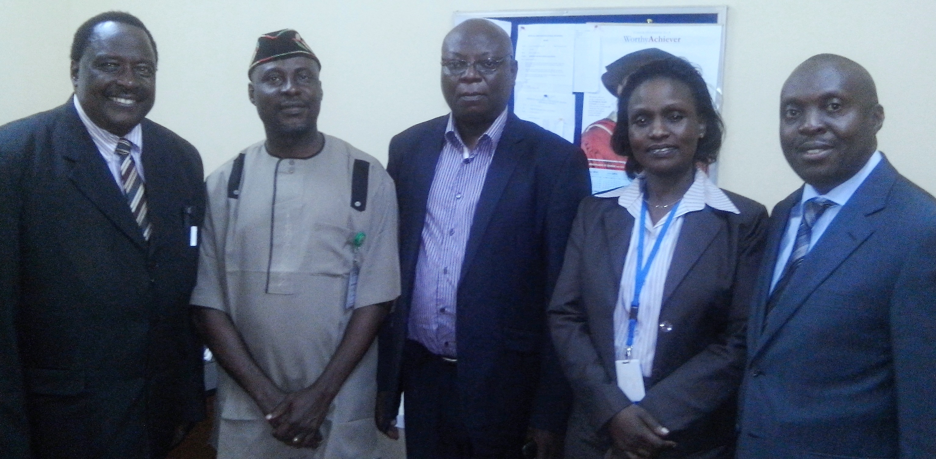 ACHEST team with the Nigerian group during the commissioning of the Study in Nigeria
