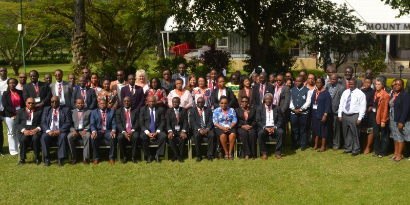 Delegates at the East Central and South African - Heath Community (ECSA-HC) 12th Best Practices Forum in Arusha, Tanzania