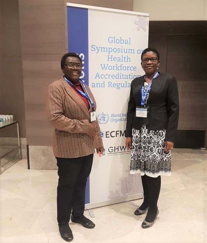 Dr. Elsie attending the 2019 Global Symposuin on Health Workforce Accreditation and Regulation in Istanbul