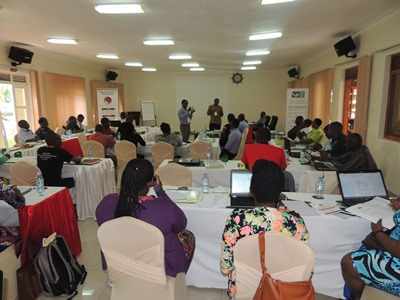 Participants at the Lobby and Advocacy meeting in Entebbe
